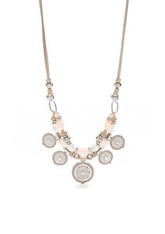 Ruby Rd Two-Tone Desert Rose Multiple Pendant Necklace