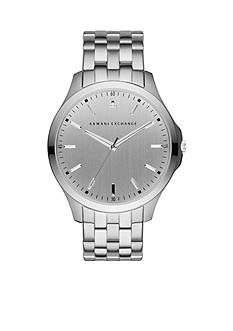 Armani Exchange AX Men's Stainless Steel 3 Hand Watch