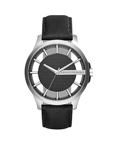 Armani Exchange AX Men's Leather Hand Watch