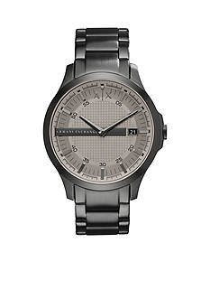 Armani Exchange AX Men's Hampton Three-Hand-Date Stainless Steel Watch