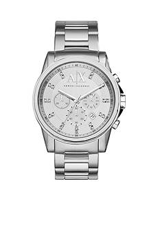 Armani Exchange AX Men's Stainless Steel Glitz Chronograph Watch