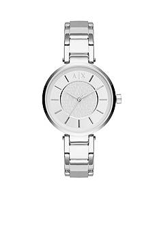 Armani Exchange AX Women's Olivia Three-Hand Stainless Steel Watch