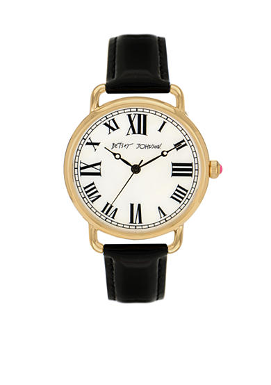 Betsey Johnson Black Vintage Watch
