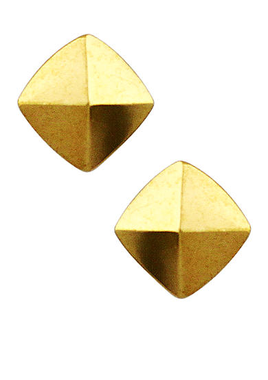 Vince Camuto Gold-Tone Pyramid Stud Earrings