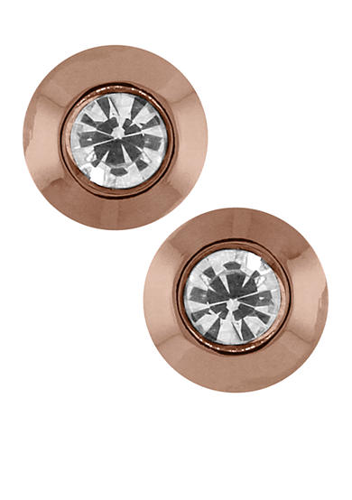 Vince Camuto Rose Gold Stud Earrings
