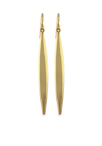 Vince Camuto Gold-Tone Linear Earring
