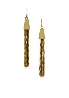 Vince Camuto Gold-Tone Tassel Earrings