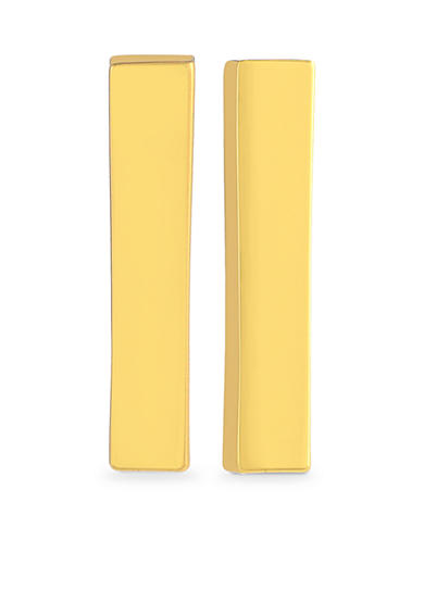 Vince Camuto Very Vince Gold Bar Earrings