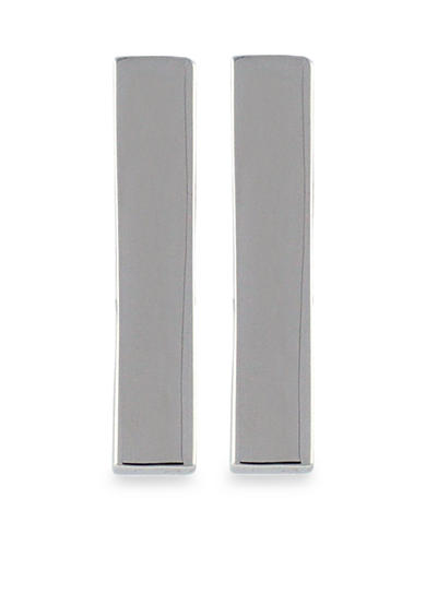 Vince Camuto Very Vince Silver Bar Earrings