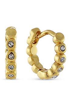 Vince Camuto Studded Mini Hinge Huggie Earring