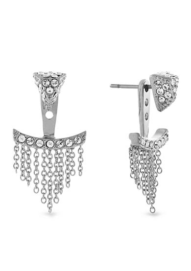Vince Camuto Triangle and Fringe Ear Jacket Earring