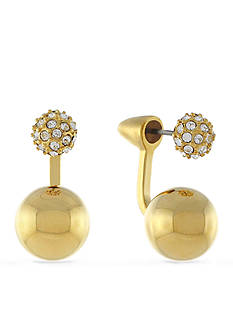Vince Camuto Two-Part Sphere Earring