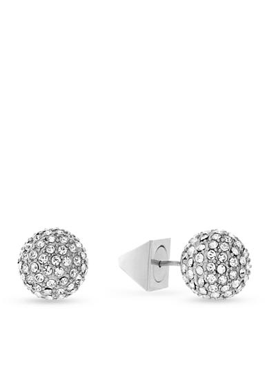 Vince Camuto Pave Ball Stud Earrings