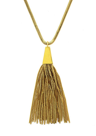 Vince Camuto Gold Metal Necklace