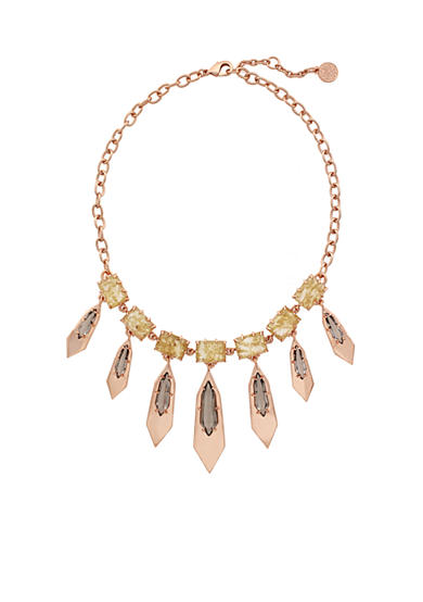 Vince Camuto Rose Gold-Tone Collar Necklace