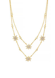 Vince Camuto Gold-Tone Double Layer Necklace