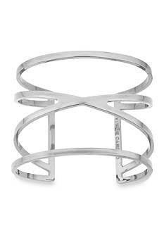 Vince Camuto Double V Cut Out Cuff Bracelet