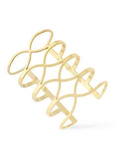 Vince Camuto Gold-Tone Statement Cuff Bracelet