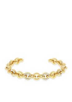 Vince Camuto Gold-Tone Small Frozen Link Bracelet