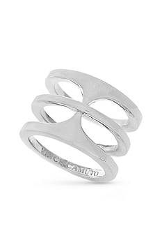 Vince Camuto Silver-Tone Basic T-Ring