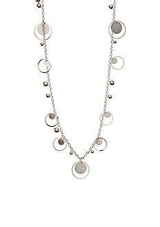 Red Camel Diamond Silver-Tone Necklace