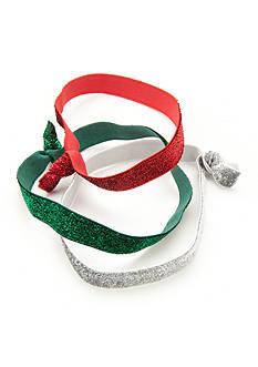 Red Camel Glitter 3-Piece Headwrap Set