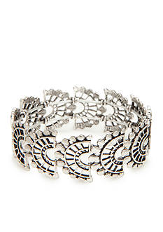 Red Camel® Silver-Tone Boho Chick Stretch Bracelet