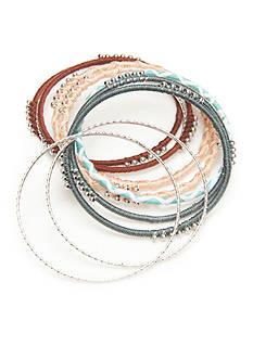 Red Camel Silver-Tone Boho Chick Bracelets