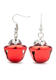 Red Camel Red Jingle Bell Earrings