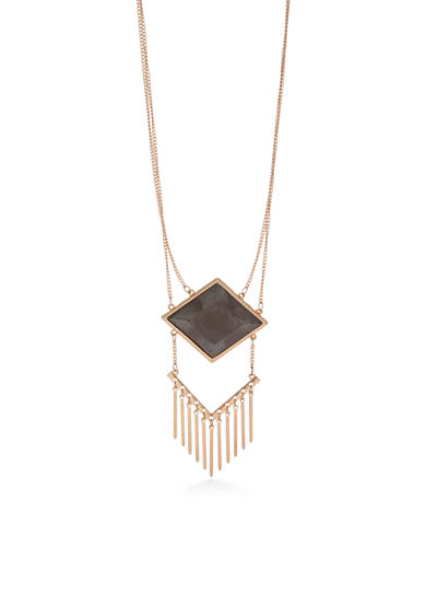 Red Camel® Gold-Tone Layered Pendant Necklace