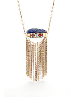 Red Camel Gold-Tone Trend Table Strand Necklace