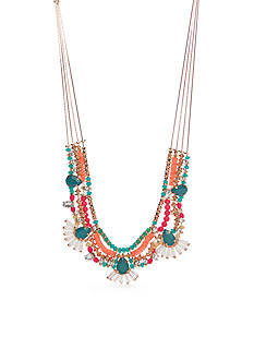 Red Camel® Gold-Tone Bohemian Fun Statement Necklace