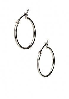 Nine West Mid-Size Hoop Earring