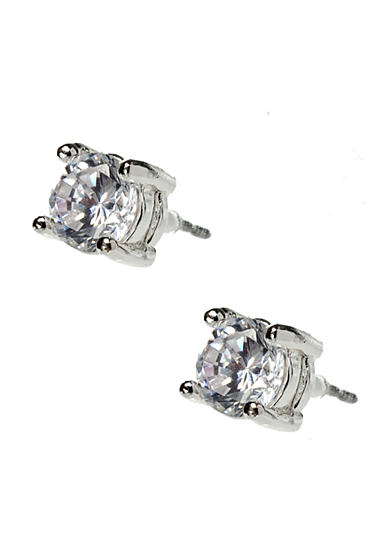 Nine West Genuine Cubic Zirconia Stud Earrings