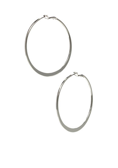 Nine West Graduated Hoop Earrings