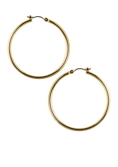 Nine West Pierced Gold Hoop Earrings