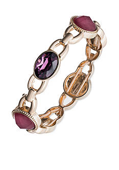 Nine West Gold-tone Berry Stretch Bracelet