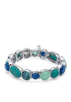 Nine West Silver-tone Spring Oasis Bracelet