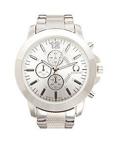Legion Men's Silver-Tone Chronograph Watch
