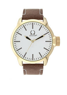 Legion Men's Gold-Tone Watch