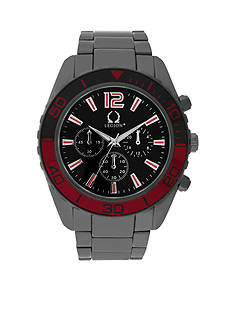 Legion Men's Hematite-Tone Chronograph Watch