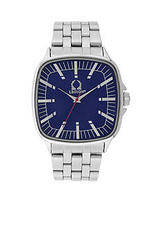 Legion Men's Silver-Tone Metal Link Watch