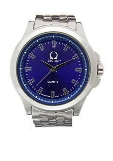 Legion Men's Blue Dial Interchangeable Band Watch