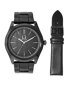 Legion Men's Black Watch and Strap Set