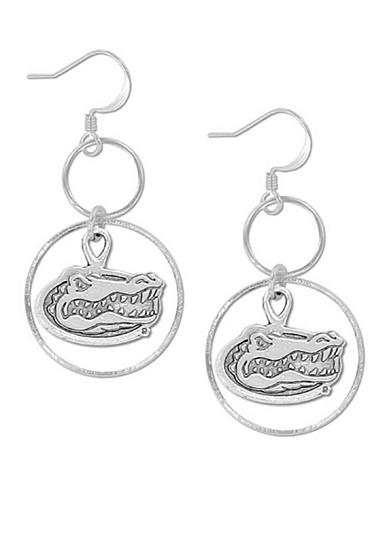 Legacy® Florida Silver Hoop Earrings
