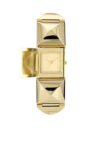Vince Camuto Modern Link Covered Dial Watch