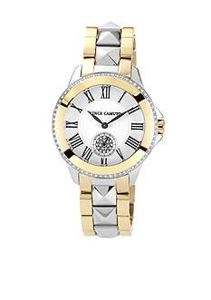 Vince Camuto Ceramic Bracelet Watch with Crystal Bezel