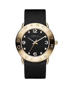Marc Jacobs Women's Amy IPG Black Strap Watch