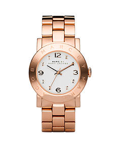 Marc Jacobs Women's Rose-Gold Amy Bracelet Watch
