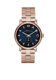Marc Jacobs Women's Baker Rose Gold-Tone Three Hand Watch